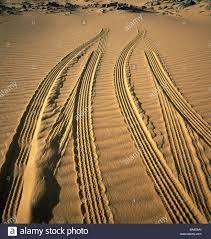 egypt gilf kebir plateau desert sand tire tracks nature landscape