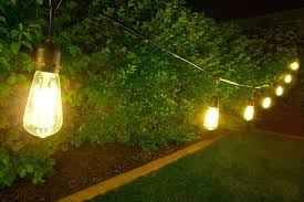 Exotic Outdoor String Lights Led Decorative Led Outdoor String