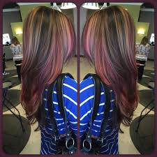 blonde highlights with chocolate brown lowlights colors ideas