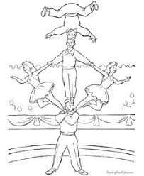 mirette on the high wire coloring page cyrk pinterest free