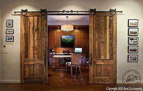 Sliding Wooden Doors Interior Sliding Wood Doors Home Interior Design