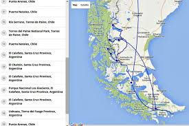 Patagonia Map Patagonia Travel Tips And Planning Your Trip Compass U0026 Fork