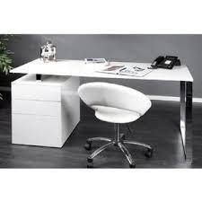 bureaux blanc laqué grand bureau blanc laqué bureau design avec rangement lepolyglotte