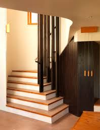 home interior design steps interior fascinating design ideas white steps and gold iron