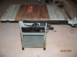 delta 10 inch contractor table saw new to me delta table saw woodworking talk woodworkers forum
