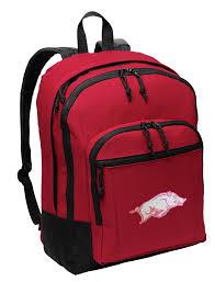 Arkansas Backpacks For Travel images Cute pink logo university of arkansas backpack ladies backpacks jpg