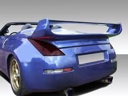 nissan 350z rear bumper octane motorsports