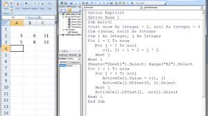 excel vba topic 9 2 multidimensional arrays matrices youtube