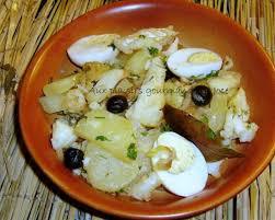 livre de cuisine portugaise morue salée aux pommes de terre et aux oeufs portugal