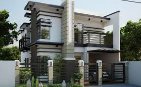 modern two house plans two storey modern house designs inspiration fincala