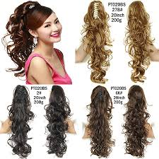 Long Synthetic Hair Extensions by Online Get Cheap Hair Extensions Pony Tail Aliexpress Com