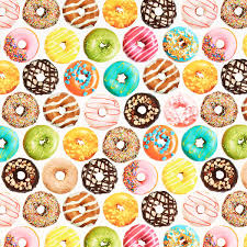 colorful donuts wrapping paper the container store