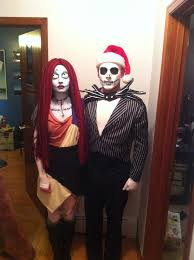 Halloween Costumes Couples Cheap Sally Jack Skellington Cheap Diy Halloween Costumes