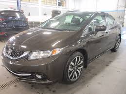 used 2014 honda civic touring deal pending for sale in montreal