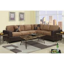 Sectional Sofa Pieces Brown Microfiber Sectional Sofa Dans Design Magz Microfiber