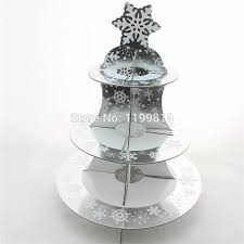 cake stands wholesale wholesale christmas theme cardboard cake stand 3 tier party