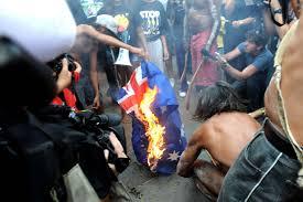 Spiritual Warfare Flags I See Truganini In Chains The Idolatry Of Flags Ethos