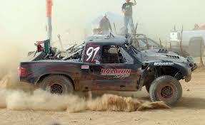 bronco trophy truck score score trophy truck champion baldwin leads toyota milestone