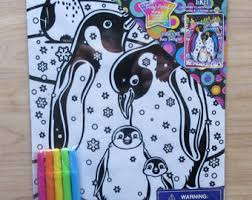 lisa frank giant coloring activity book fun friends
