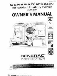 generac guardian 14kw owners manual