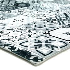 grand tapis de cuisine tapis cuisine carreaux de ciment grand tapis cuisine eclectic e9