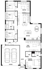 House Floor Plan Measurements House Design Kew Porter Davis Homes