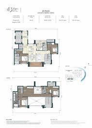 Duplex Floor Plan D U0027edge Thao Dien Floor Plans