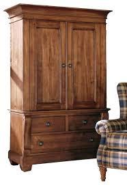 armoire wardrobe solid wood roselawnlutheran shaker mission honey