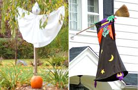 Outdoor Halloween Decoration Ideas Outdoor Halloween Decorations For Trees 6 Of Late Outdoor