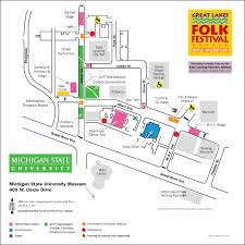 parking directions great lakes folk festival 2016 2015 map