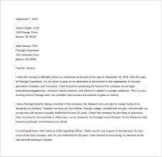 resignation letter templates u2013 32 free word excel pdf documents