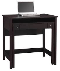 small black computer desk wooden small desk for laptop black computer desks wood table saomc co