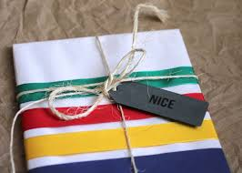 Gift Wrapping How To - hudson bay inspired gift wrap how to wrap a gift for your bff