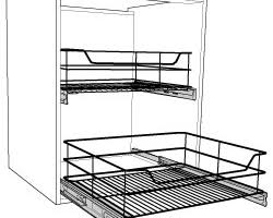 Pull Out Baskets For Kitchen Cabinets by Kitchen Wirework U0026 Pull Out Wire Baskets For Cupboards Solid