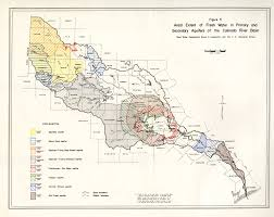 Colorado River Basin Map by Numbered Report 51 Texas Water Development Board