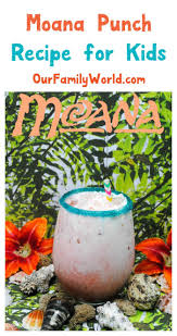 moana fruit punch recipe virgin drinks fruit punch and