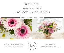 s day flower arrangements s day flower workshop post templates by canva