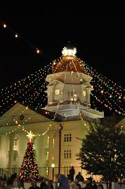 moultrie ga lights lights downtown on thanksgiving 2009