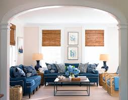 Blue And White Family Room House Beautiful Pinterest | jeremy samuelson for house beautiful casual comfort pinterest
