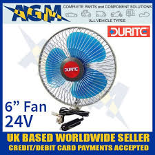 6 inch oscillating fan 0 210 44 in vehicle 24v 6 inch oscillating fan