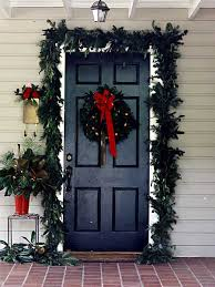 how to hang garland around front door i91 all about cool