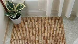 tappeto con tappi di sughero tappetino per la doccia fallo tu ecco 5 idee da realizzare dilei