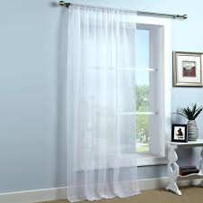 Sheer Elegance Curtains Voile Drapes Curtains White Sheer Elegance Voile Panel Voile