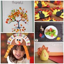 fun thanksgiving crafts for preschoolers divascuisine com