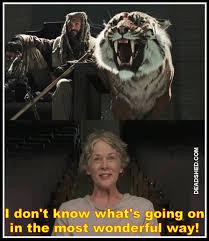 Carol Walking Dead Meme - deadshed productions shiva edition the walking dead 7x02 memes