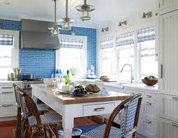 vintage kitchen tile backsplash kitchen modern cottage blue kitchen cabinets and decorations