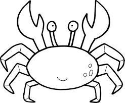 crab coloring pages chuckbutt com