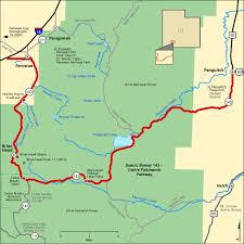 america map utah scenic byway 143 utah s patchwork parkway map america s byways