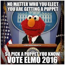 Elmo Meme - elmo for president home facebook