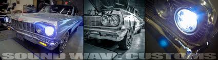 hid lights for classic cars lighting sound wave customs
